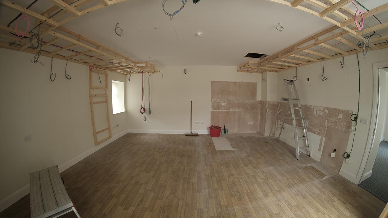 Cinema Room Installation - Fernlea Care Home - Manchester See-AV