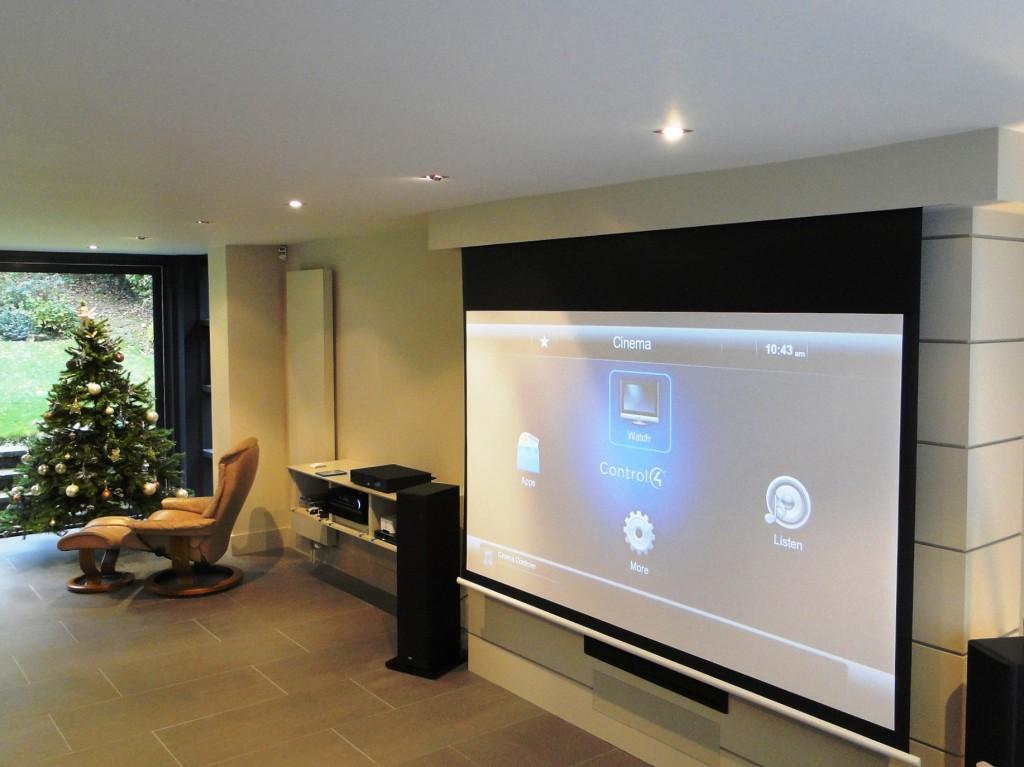 3D Home Cinema Installation See-AV