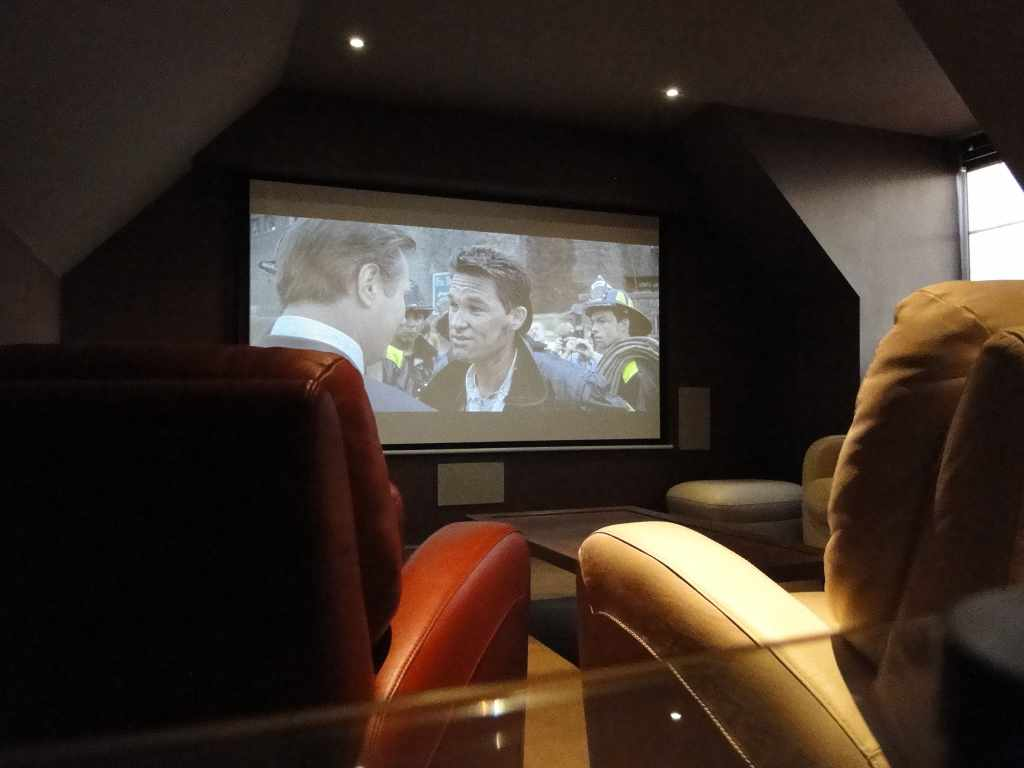 Home Cinema Room Installation, Cheshire See-AV