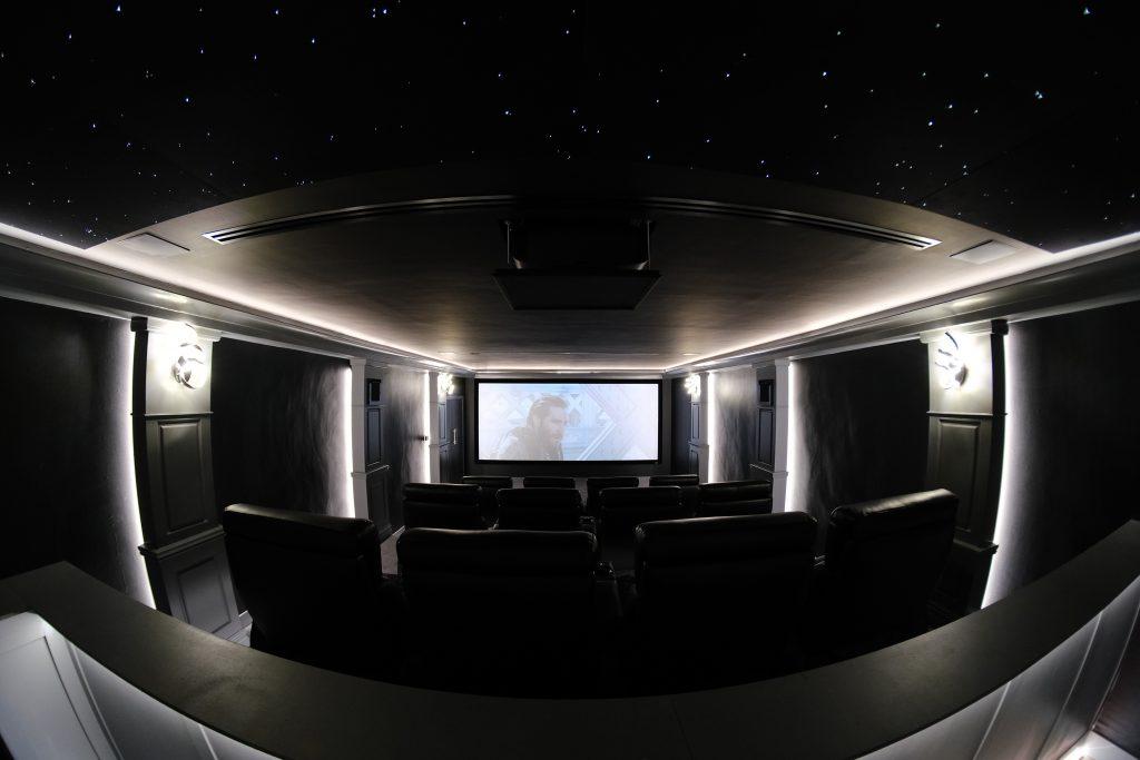 Home Cinema Rear View