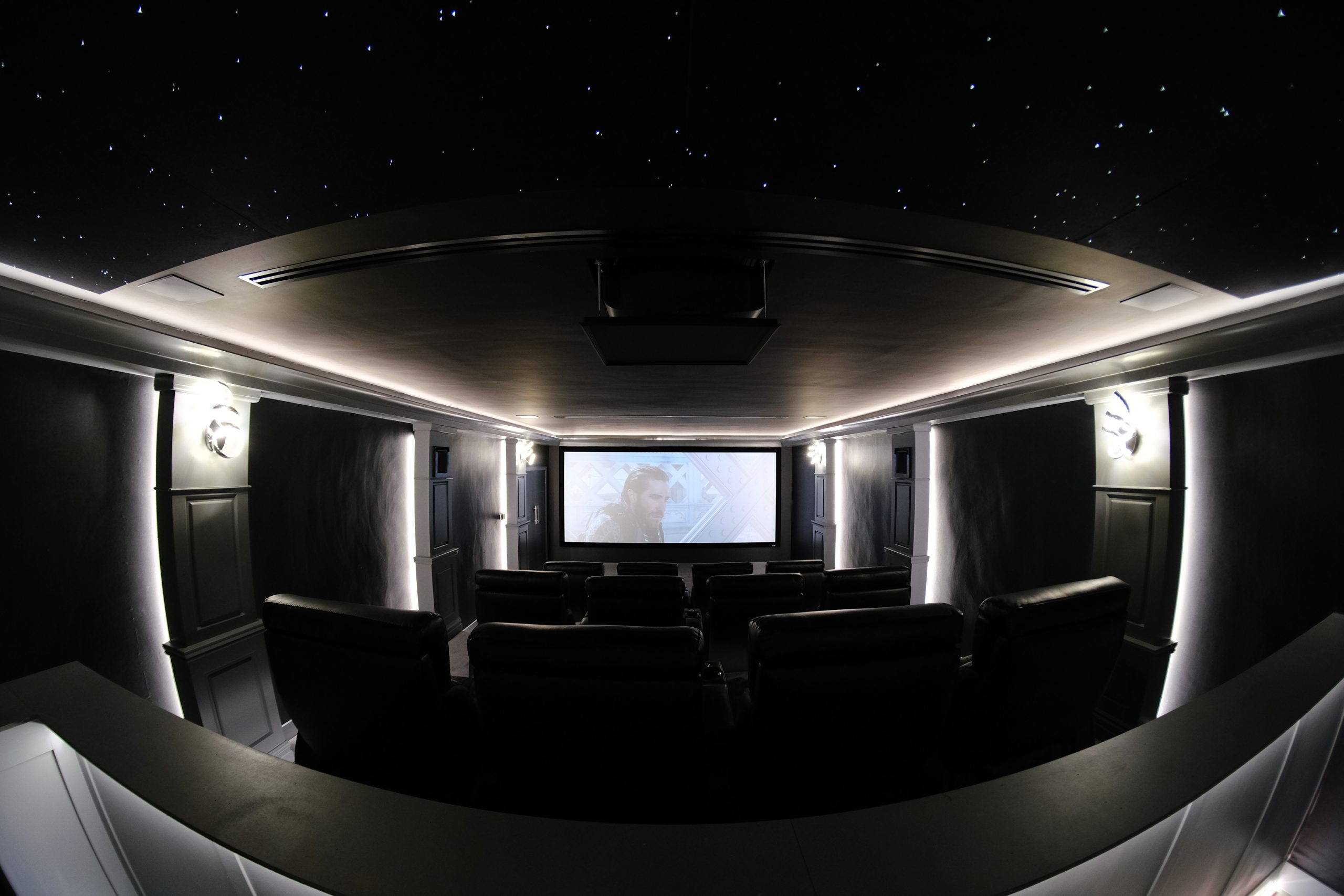 Home Cinema Rear View