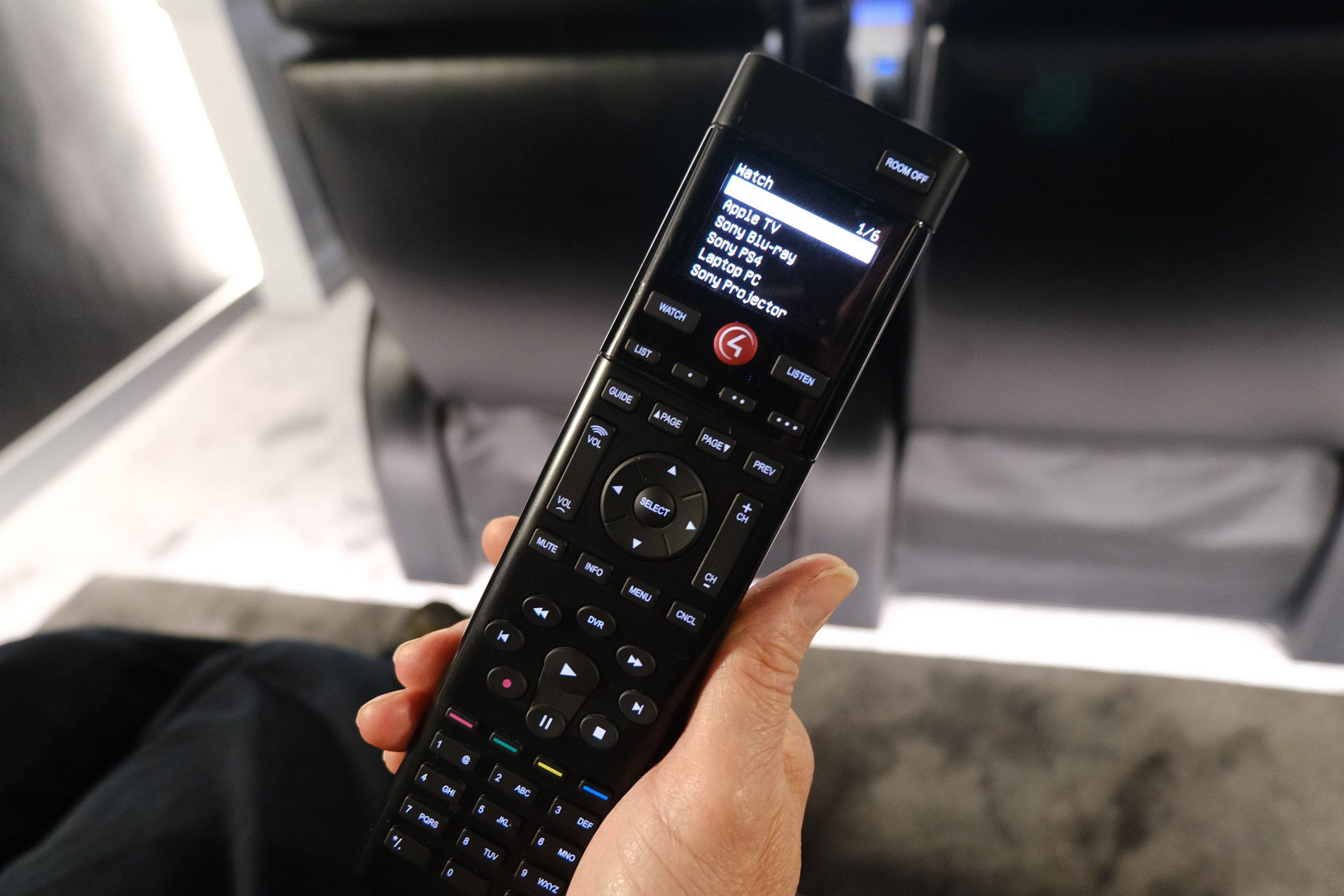 Control4 Home Cinema remote control