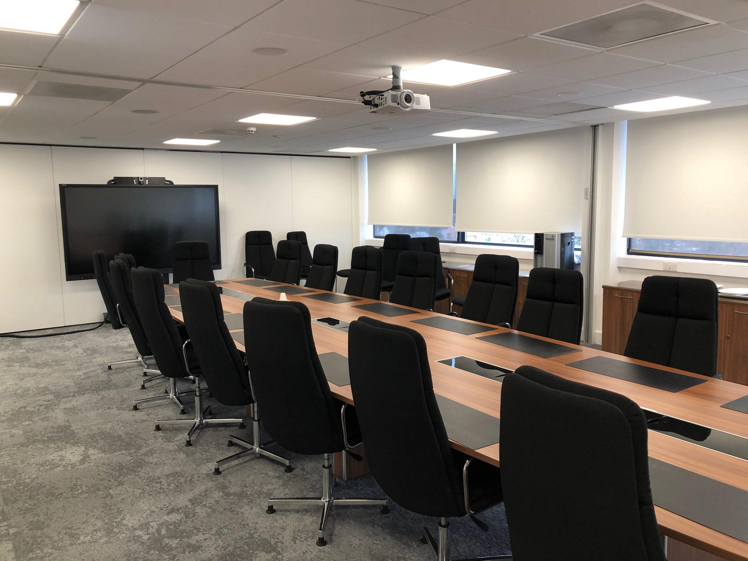 Meeting Room AV installation