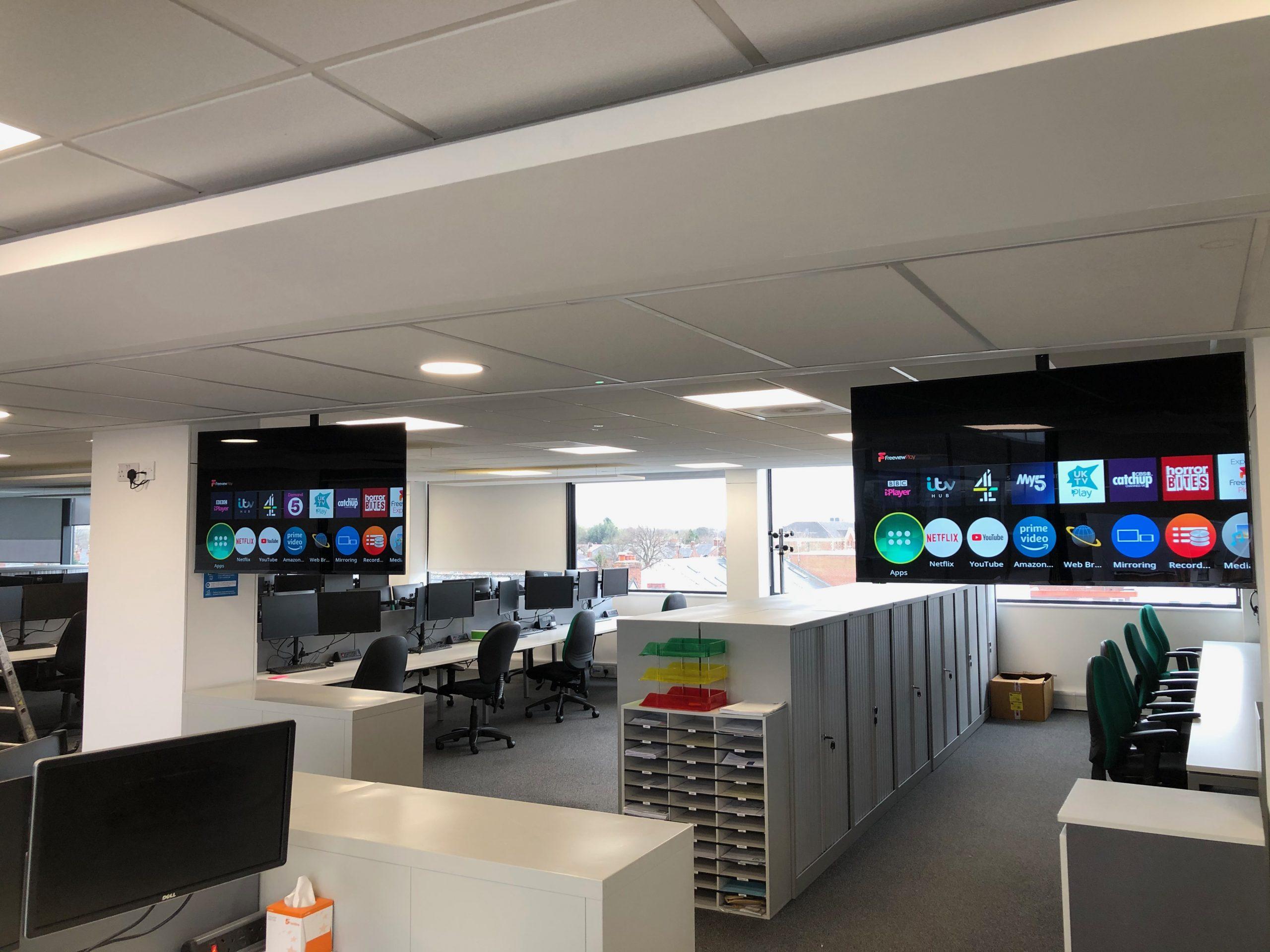Office AV installation