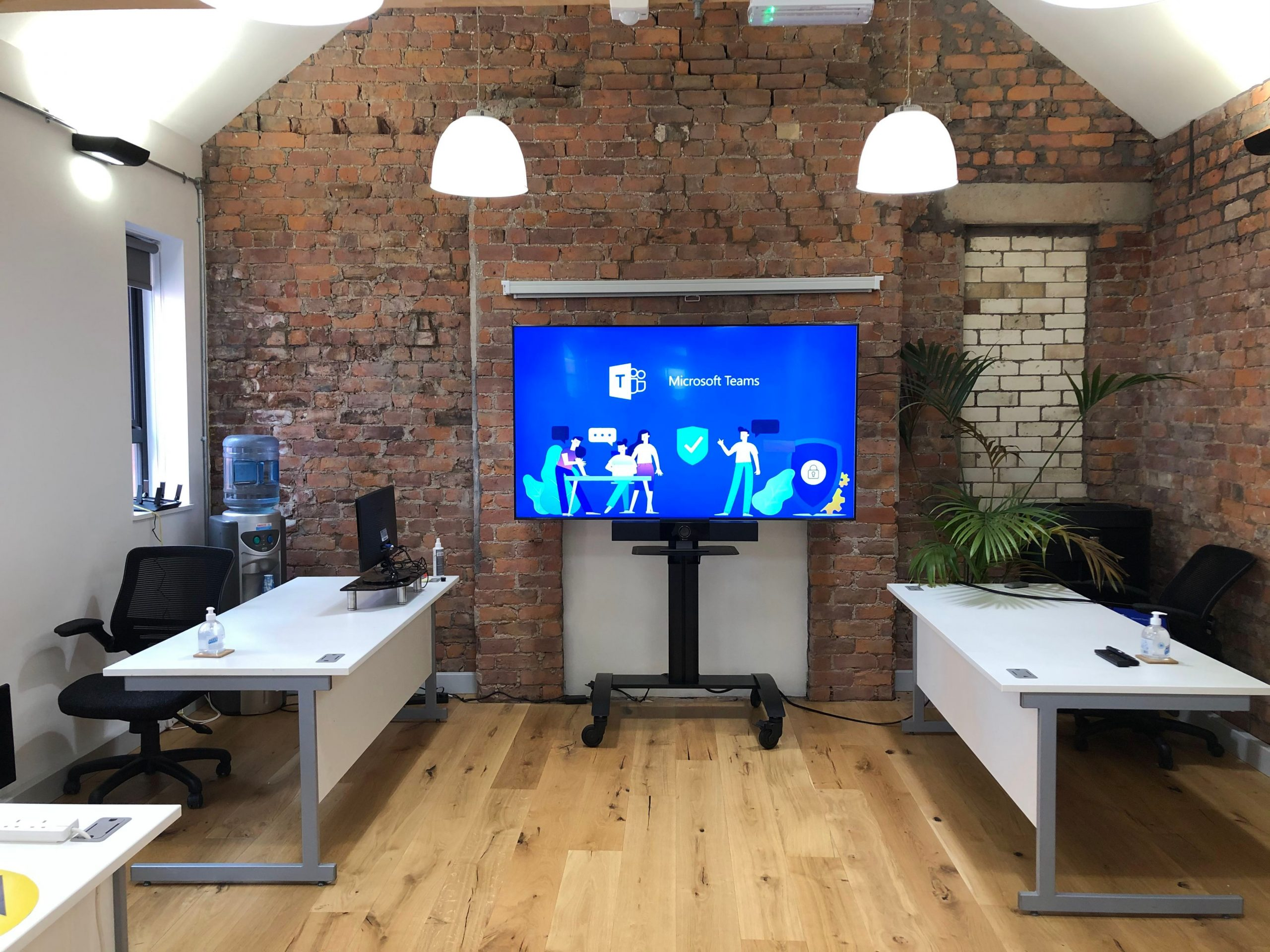 Video Conferencing System Installed
