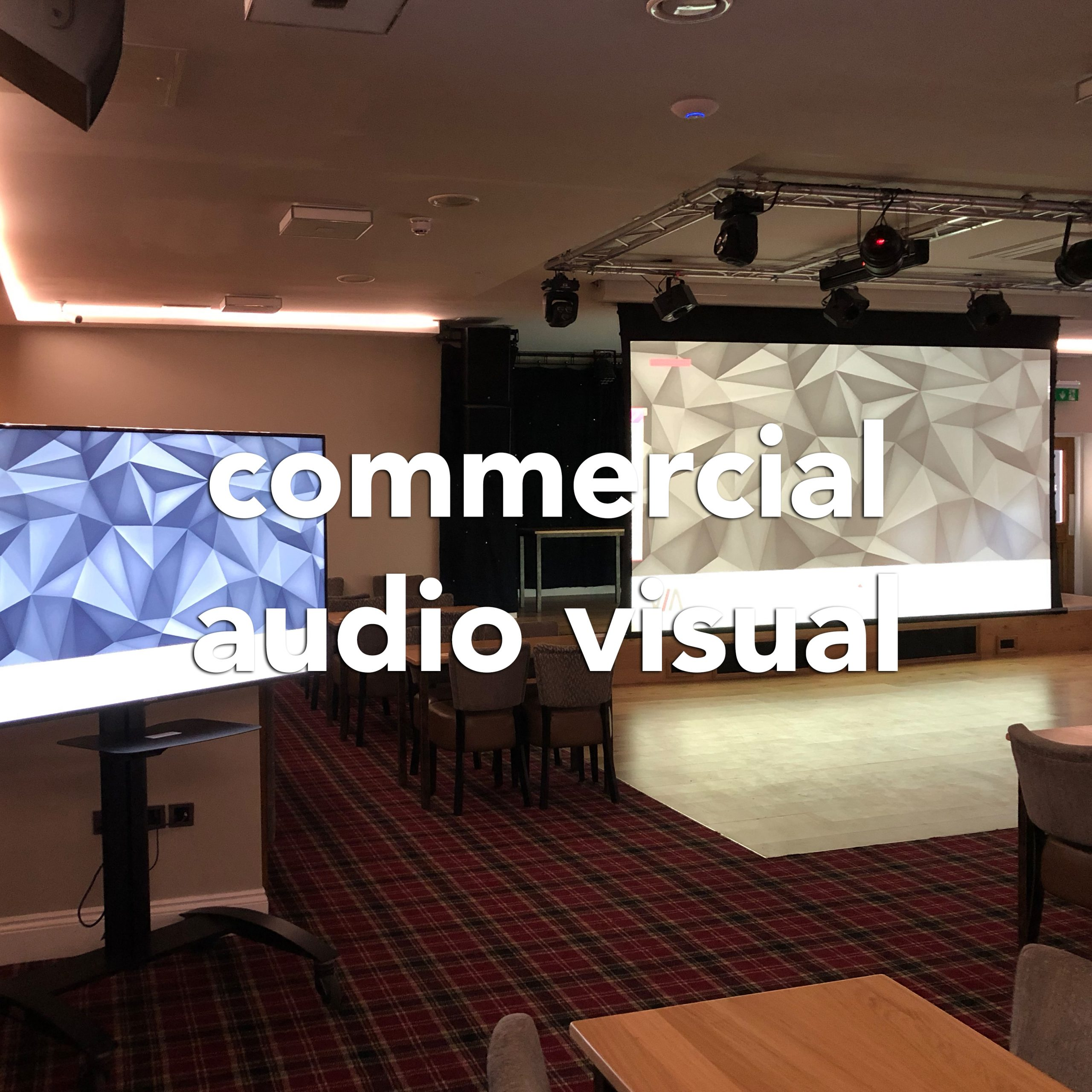 commercial audio visual